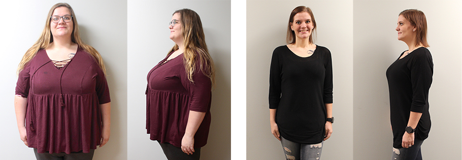 Chelsea's weight loss transformation