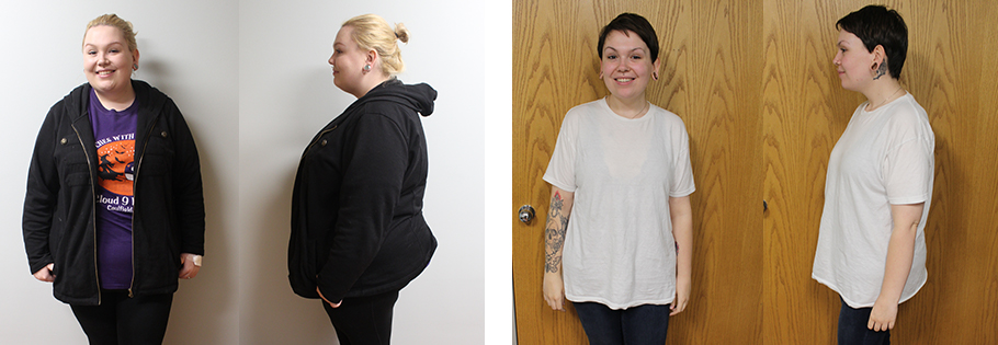 Nicole's weight loss transformation
