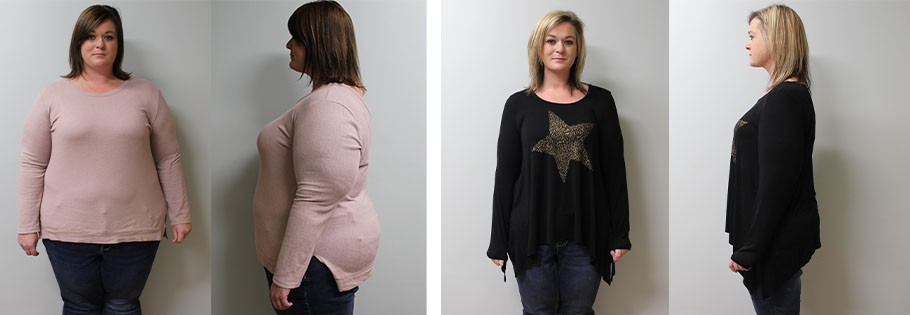 Jessie's weight loss transformation