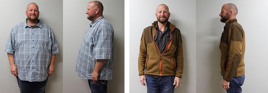 Marshall's weight loss transformation