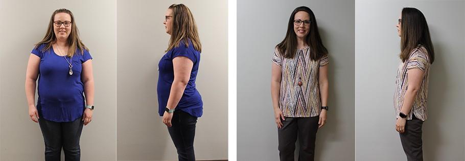 Kathryn weight loss transformation